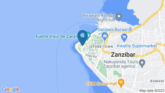 Al-Minar Hotel Map