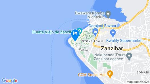 Al Johari Zanzibar Map
