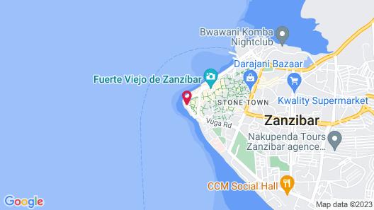 Zanzibar Serena Hotel Map