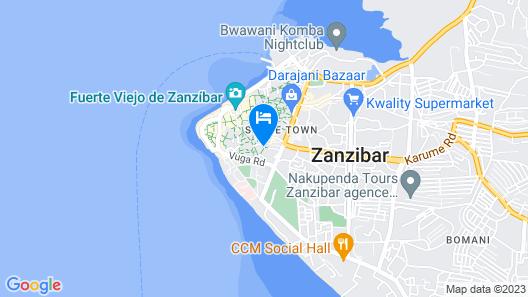 Zanzibar Coffee House Map