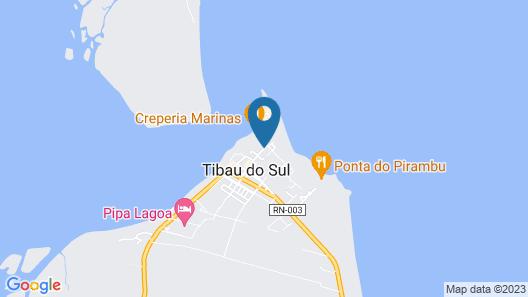 Pousada Corais do Sul Map