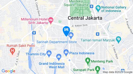 Holiday Inn Express Jakarta Wahid Hasyim, an IHG Hotel Map