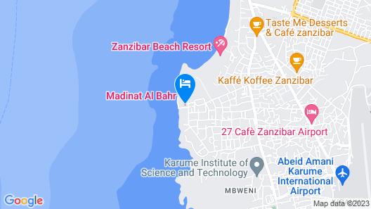 Madinat Al Bahr Business & Spa Hotel Map