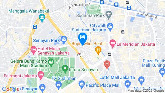 RedDoorz @ Taman Bendungan Asahan Map