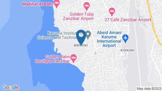 The Manor House Zanzibar Map