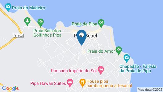 Thalassa Hotel Pousada Map