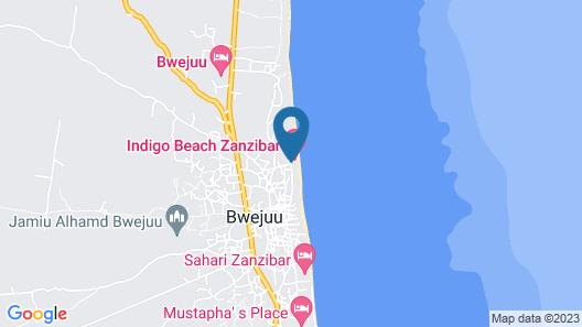 Indigo Beach Zanzibar Map
