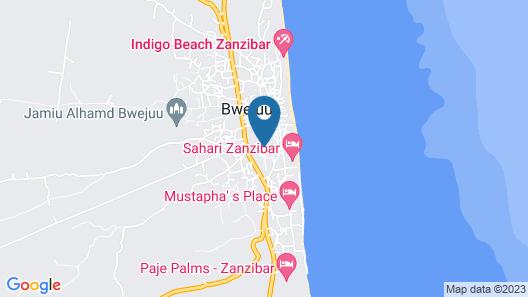 Zanzibar Dream Lodge Map