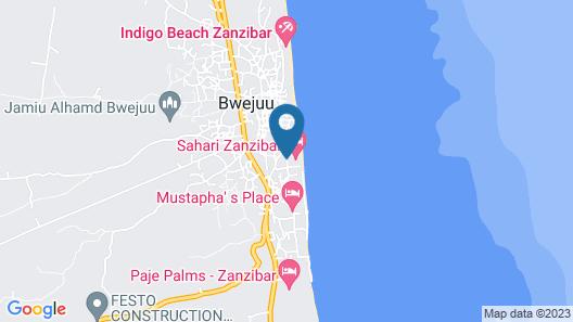 Bwejuu Beach Palm Villa Map