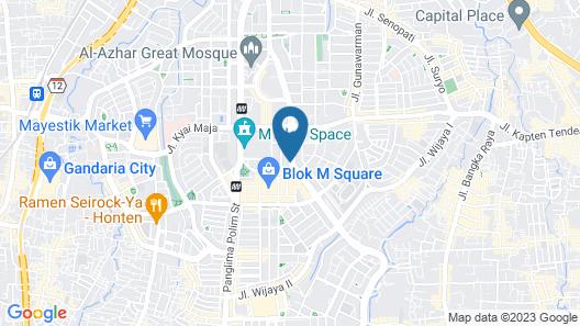 Hotel Dharmein Map