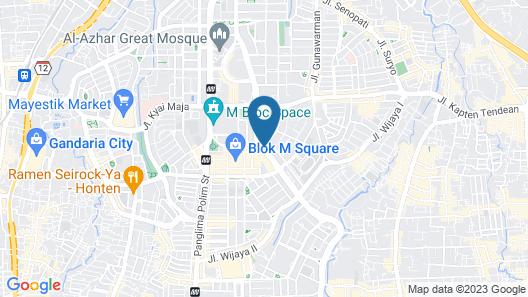 Ambhara Hotel Map