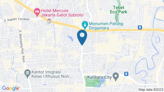 CIPTA HOTEL PANCORAN Map