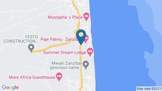 VRclub - Paje Palms Beach Resort Map