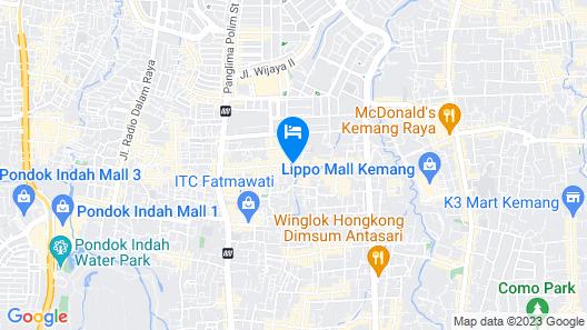 RedDoorz Plus @ Cipete Damai Map