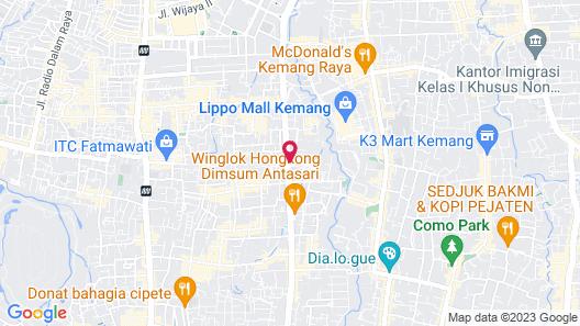 Goodrich Suites Jakarta, Artotel Portfolio Map