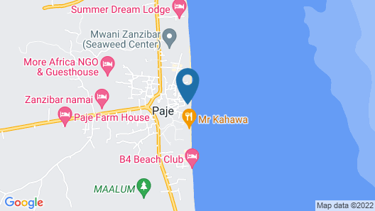Ananda Beach House Map