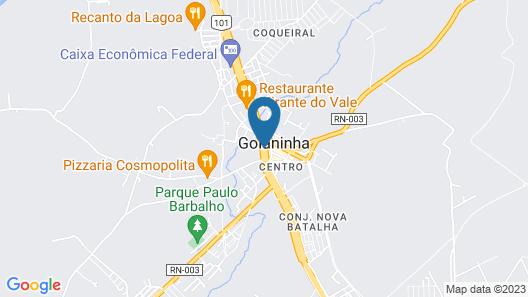 OYO Hotel Casa Grande Map