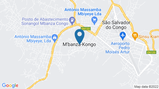 iu Hotel Mbanza Congo Map