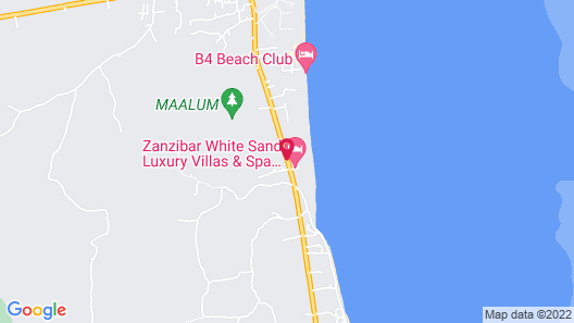 Zanzibar White Sand Luxury Villas & Spa Map