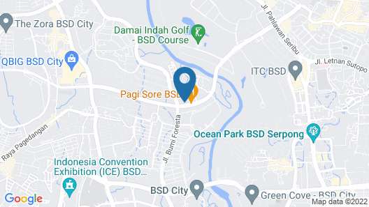 Sapphire Sky Hotel & Conference Map