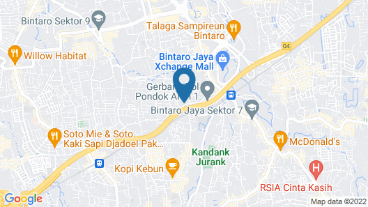 KoolKost Syariah near Bintaro Jaya Xchange Map