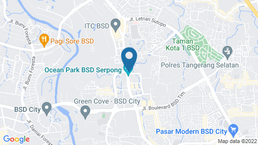 Grand Zuri BSD City Map