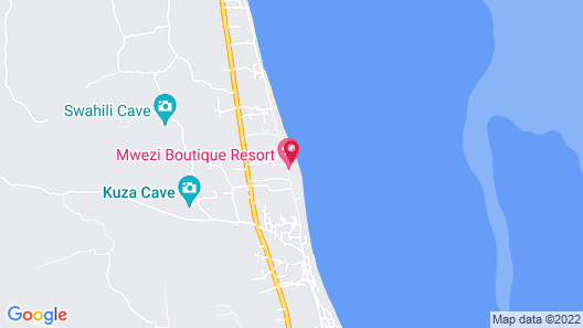Sharazād Boutique Hotel Map