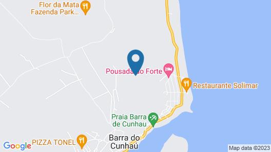 Pousada do Forte Map