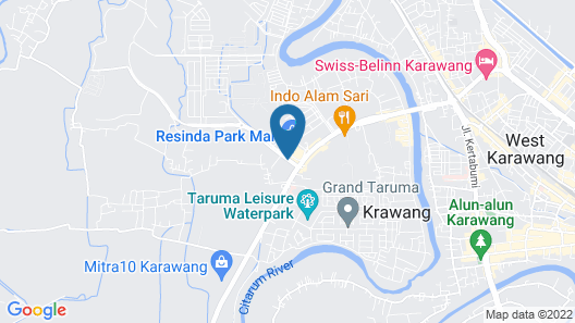 Resinda Hotel Karawang, Managed by Padma Hotels Map
