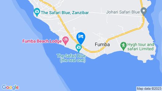 Fumba Beach Lodge Map