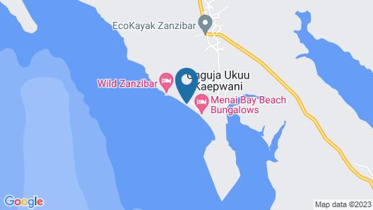 Menai Bay Beach Bungalows Map