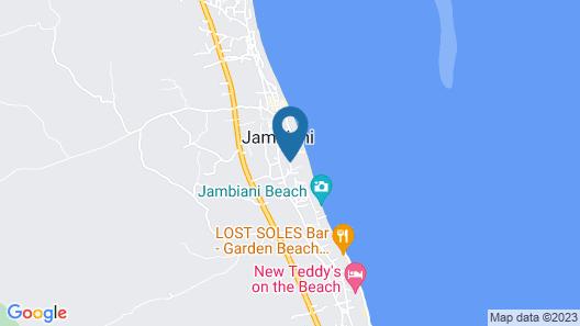 Jambiani Villas Map