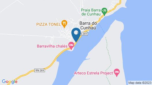 Pousada Degraus Map