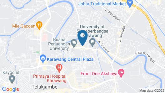 OYO 1120 Hotel Grand Liquid Map