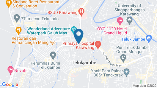 Mercure Karawang Map