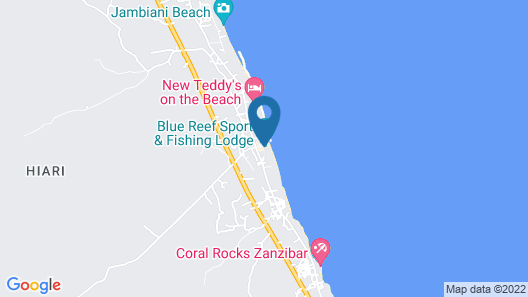 Blue Reef Sport and Fishing Lodge & Bungalows Map
