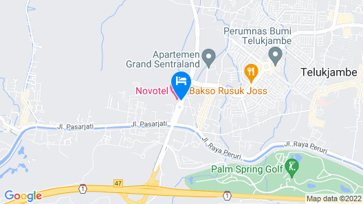 Novotel Karawang Map