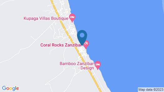 Art Hotel Zanzibar Map