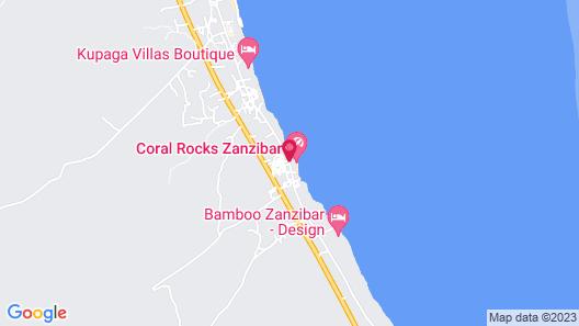 Coral Rock Hotel & Restaurant Map