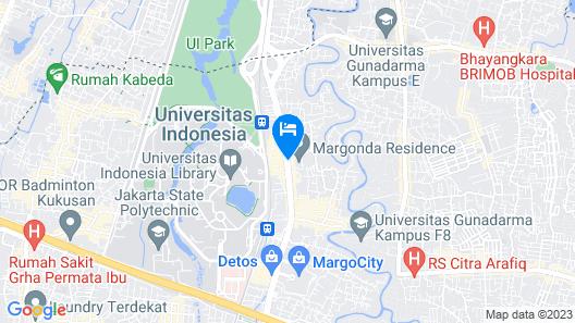 Star Apartemen Margonda Residence 2 Depok Map