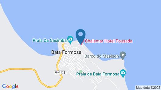 Chalemar Hotel Pousada Map