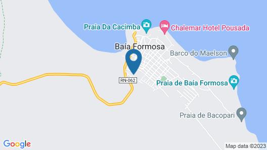 Pousada Flor do Caribe Map