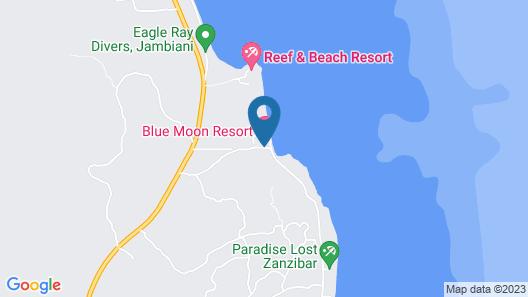 Blue Moon Resort Map