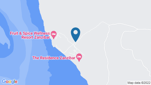 The Residence Zanzibar Map