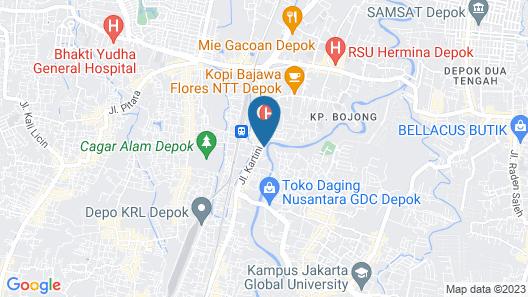 Urban24 Syariah Depok Map