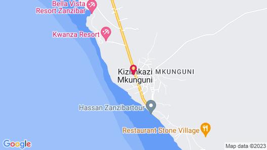 Karamba Zanzibar Boutique Hotel Map