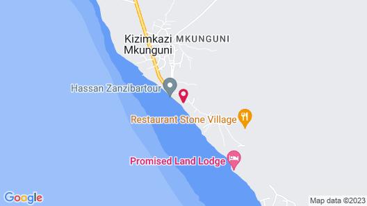 Aya Beach Bungalows Map