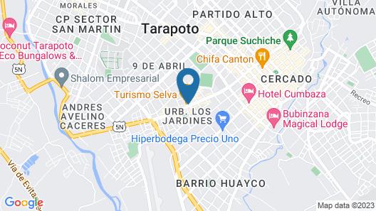 Hospedaje Monte Verde Map