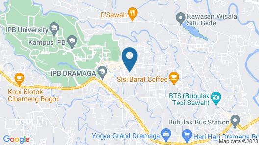 RedDoorz Syariah near IPB Dramaga Bogor Map