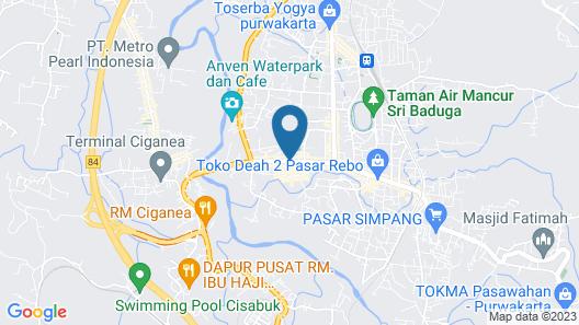 MP Hotel Purwakarta Map